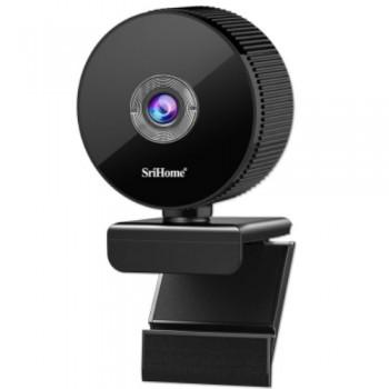 Srihome SH008 2.0MP 1080P Web Camera Κάμερα Υπολογιστή με Μικρόφωνο