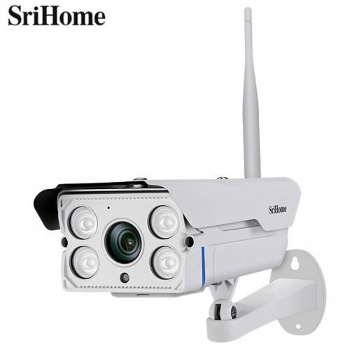 Srihome SH027 Κάμερα IP/WiFi Εξωτερικού Χώρου (3.0 Megapixel/  IP66 / Ανίχν. Κίνησης / Νυχτερινή Λήψη)