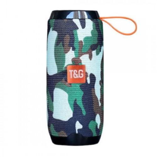 Φορητό ηχείο T&G TG106 Bluetooth με ενσωματωμένο μικρόφωνο- Army