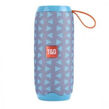 Φορητό ηχείο T&G TG106 Bluetooth με ενσωματωμένο μικρόφωνο- Baby Blue