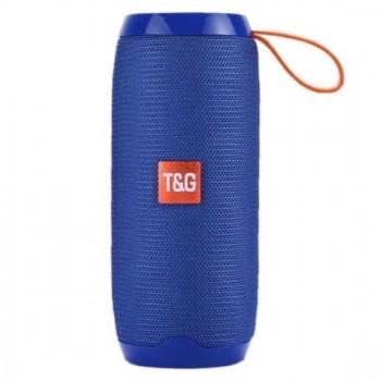 Φορητό ηχείο T&G TG106 Bluetooth με ενσωματωμένο μικρόφωνο- Μπλε