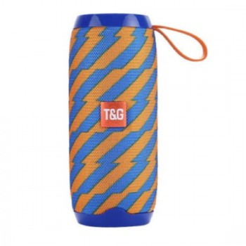 Φορητό ηχείο T&G TG106 Bluetooth με ενσωματωμένο μικρόφωνο- Μπλε Πορτοκαλί