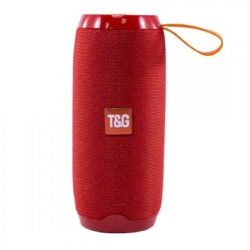 Φορητό ηχείο T&G TG106 Bluetooth με ενσωματωμένο μικρόφωνο- Κόκκινο