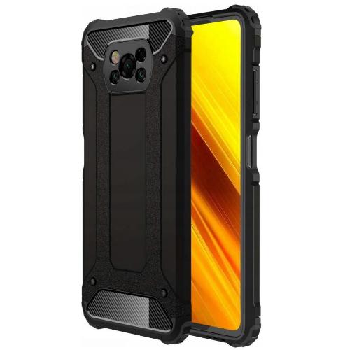 Θήκη Tech-Protect armor Back Cover για Xiaomi Poco X3 NFC - X3 Pro - Μαύρο