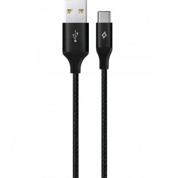 TTEC AlumiCable™ XL Καλώδιο Φόρτισης/Συγχρονισμού Type-C (Black)
