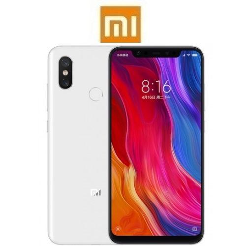 "XIAOMI Mi 8 Global (6.21""/4G/8πύρηνο/6GB-128GB) Λευκό (Ακουστικά Δώρο)"