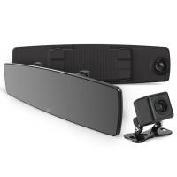 """Yi Mirror Dash Κάμερα Αυτοκινήτου (FHD/DUO/4.3"""" LCD/mSD/WiFi) (YI89029)"""