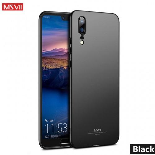 MSVII Ματ Backcover Θήκη (Huawei P20 Lite) ( Μαύρο)