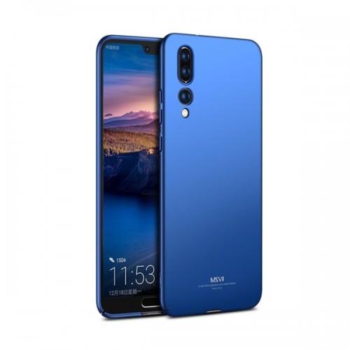 MSVII Ματ Backcover Θήκη (Huawei P20 Pro) ( Μπλε)