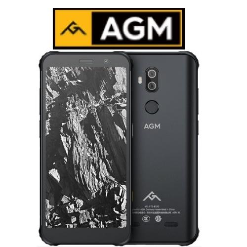 """AGM X3 (5.99""""/4G/8πύρηνο/Αδιάβροχο-Rugged IP68 MIL-STD-810G/8GB-128GB) Μαύρο"""