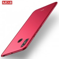 MSVII Ματ Backcover Θήκη (Xiaomi Mi Max 3) ( Kόκκινη)
