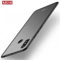MSVII Ματ Backcover Θήκη (Xiaomi Mi Max 3) ( Μαύρη)
