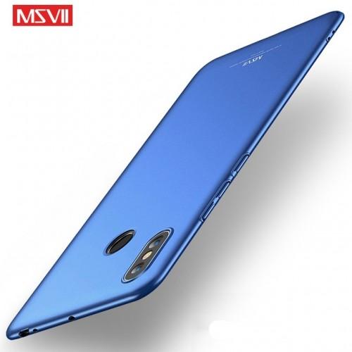 MSVII Ματ Backcover Θήκη (Xiaomi Mi Max 3) ( Μπλε)
