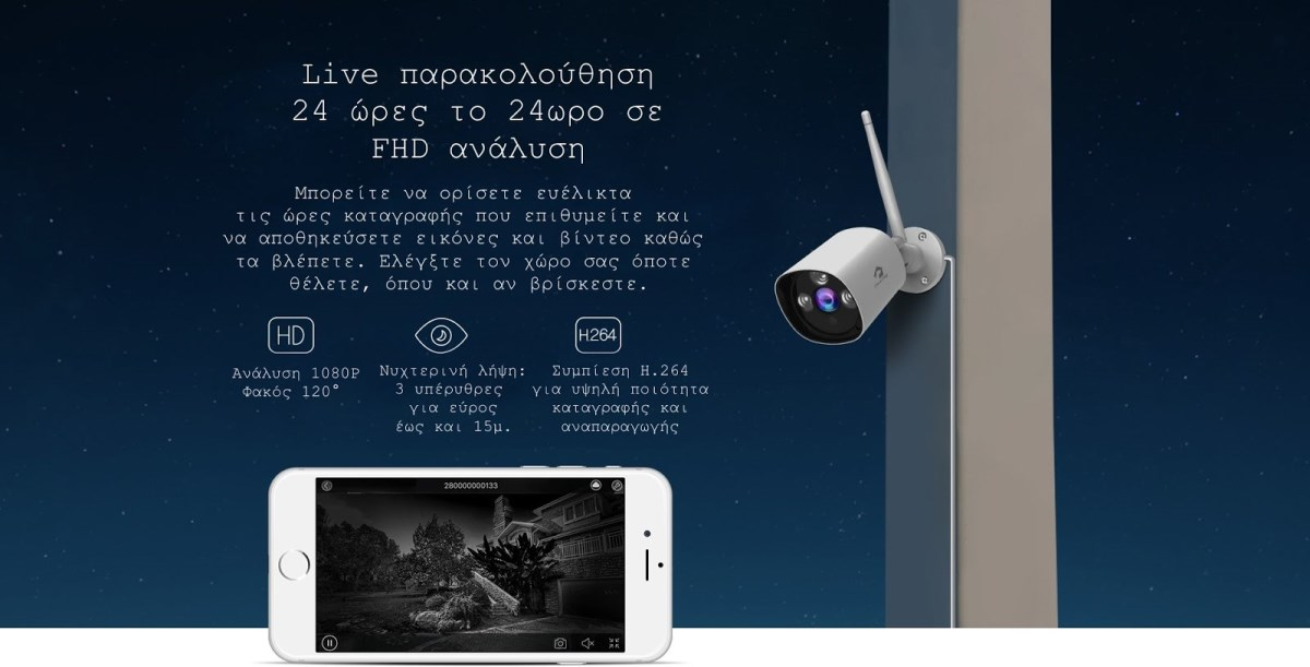 Κάμερα Ασφαλείας