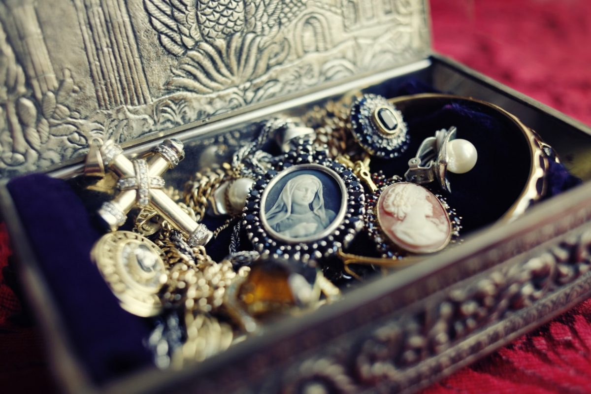 Πολύτιμα αντικείμενα σε κοινή θέα