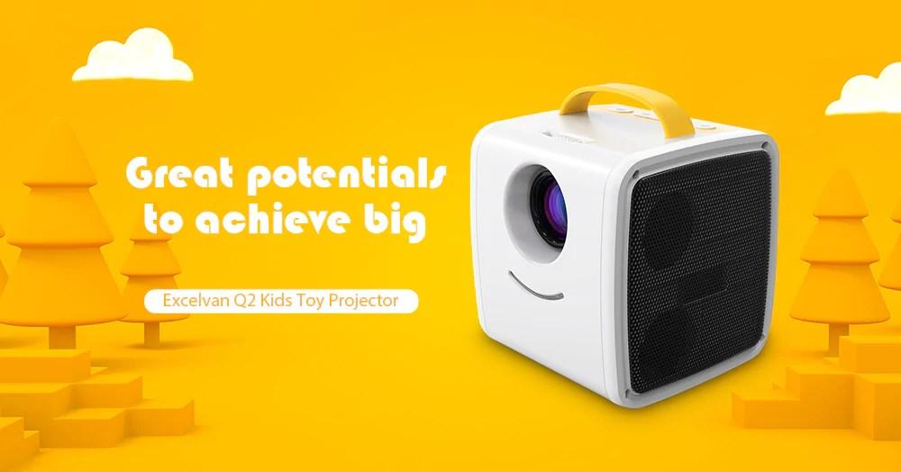 Excelvan Q2 Kids Projector