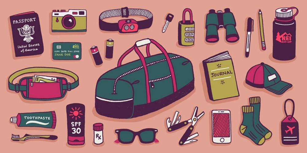 Κάντε μία μικρή έρευνα σχετικά με τον εξοπλισμό που θα χρειαστείτε και πάρτε ορισμένα σημαντικά αντικείμενα μαζί σας