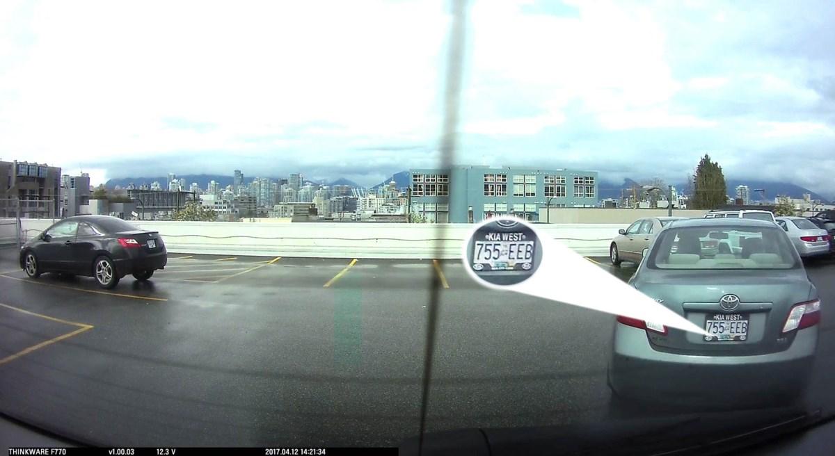 Προστασία από δολιοφθορά με κάμερα αυτοκινήτου