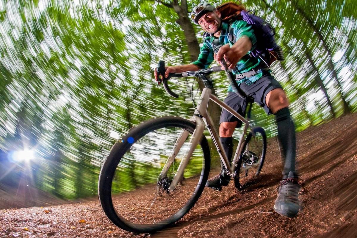 Ποδηλατικοί αγώνες σε χαλίκι
