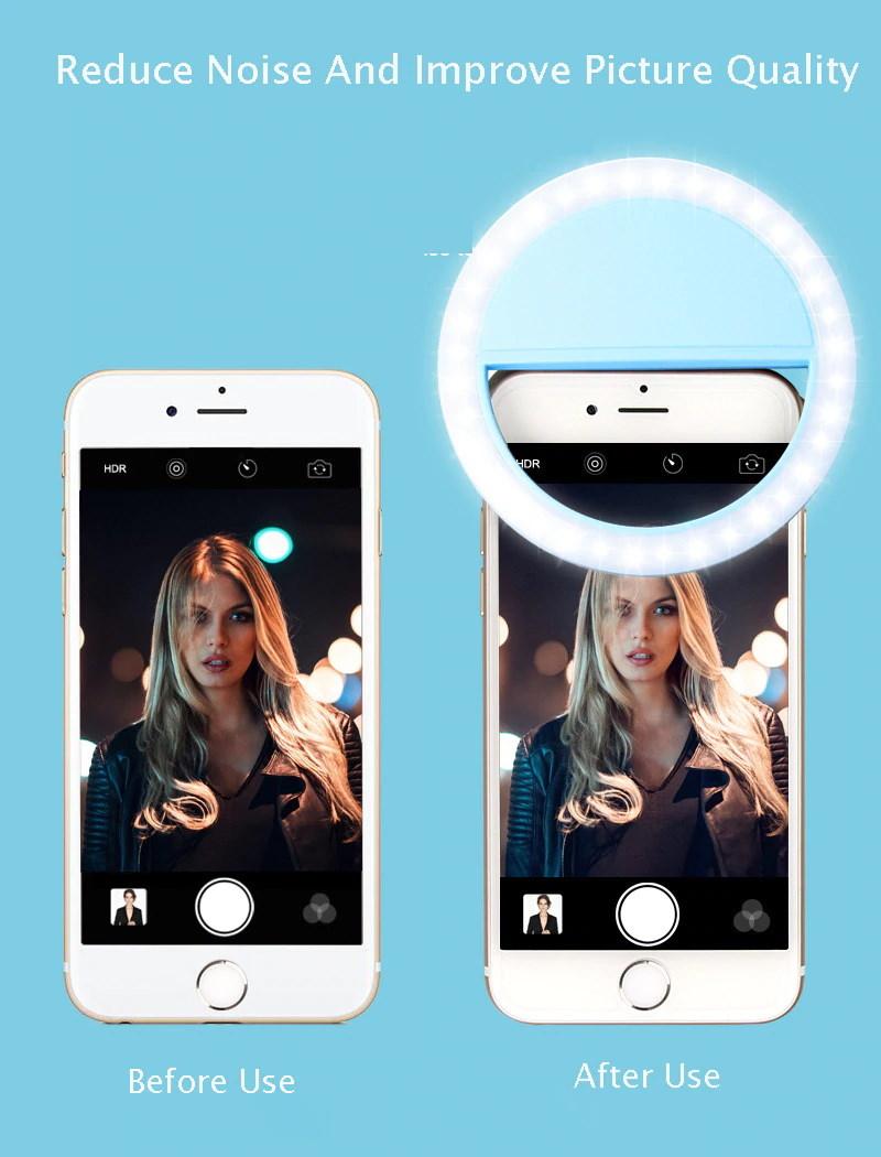 Εκπληκτική Βελτίωση με το Selfie LED Ring