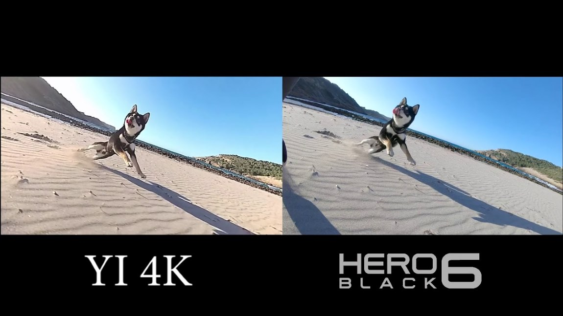 Yi 4K vs. GoPro Action Camera