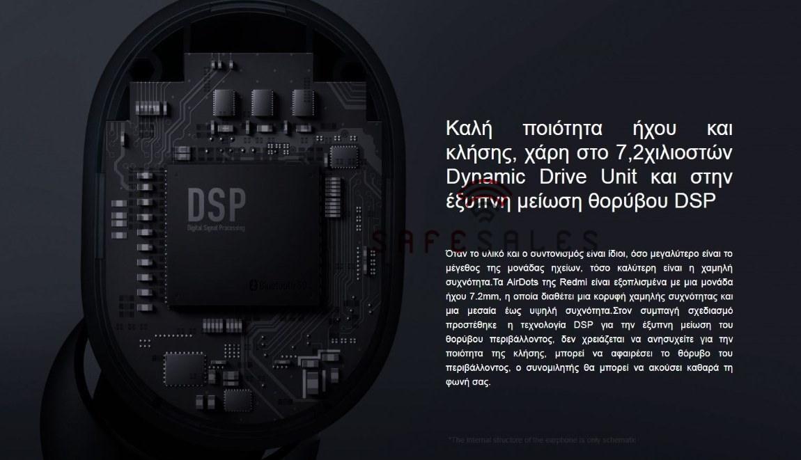 Xiaomi Redmi Airdots  DSP Μείωση Θορύβου