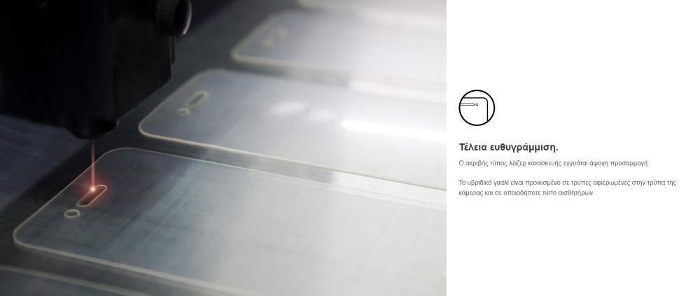 FlexibleGlass Προστασία Οθόνης XIAOMI REDMI 10 άψογη εφαρμογή