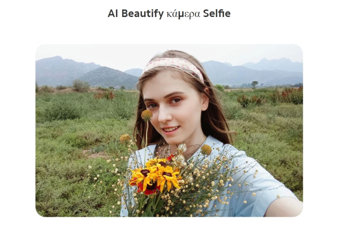 Xiaomi Redmi 9A Global selfie