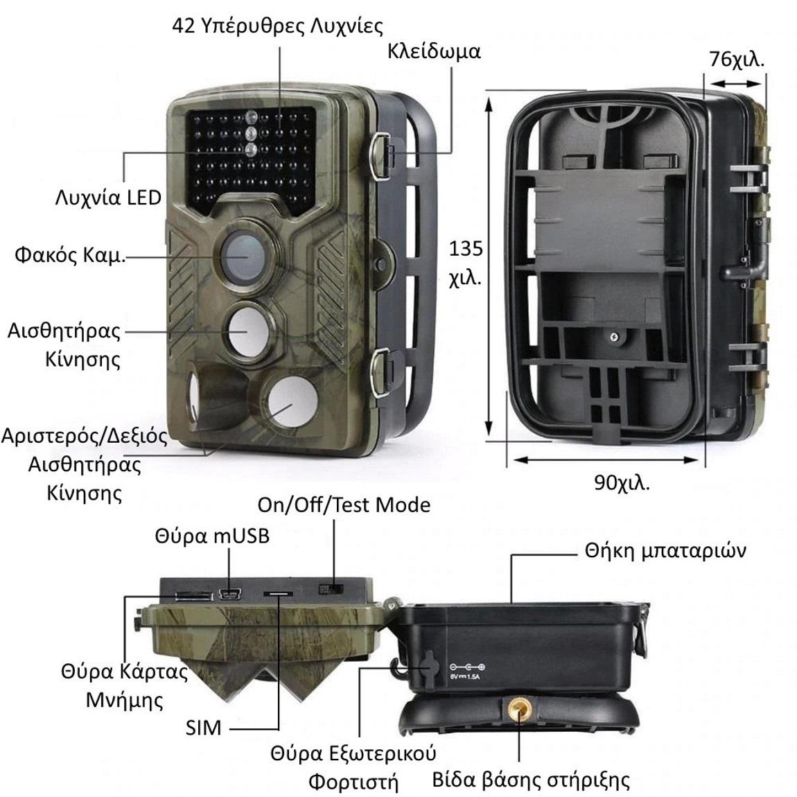 Suntek HC-800LTE χαρακτηριστικά