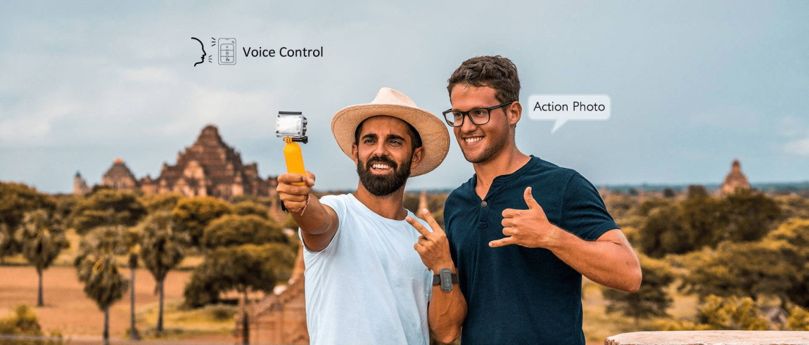 AKASO Action Cam V50 Elite HD voice control