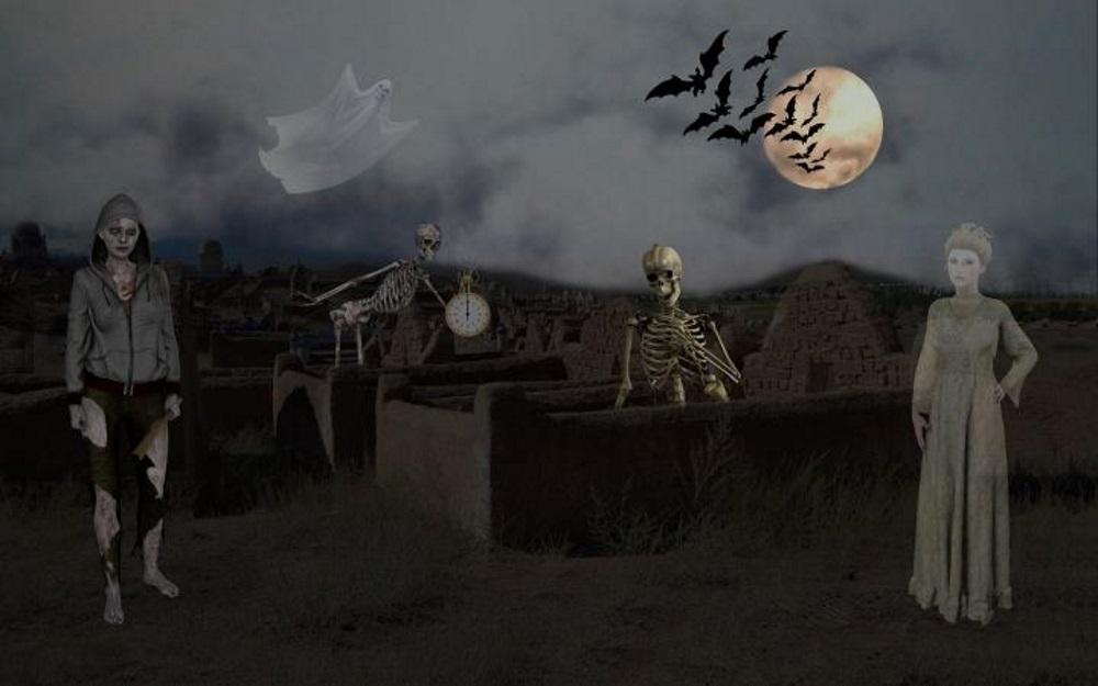 Halloween 2020 και γεμάτο φεγγάρι