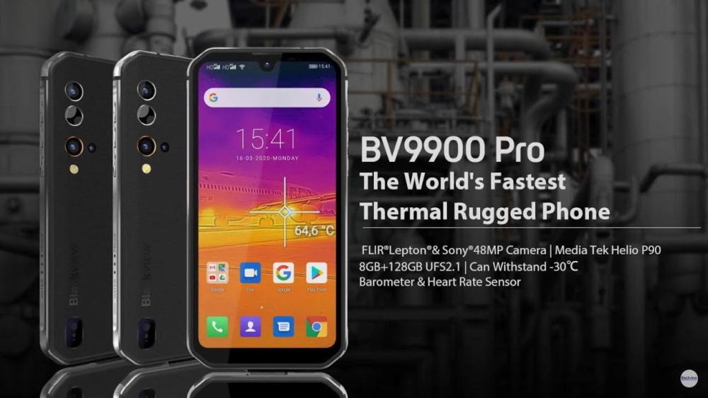 BV9900 Pro με θερμική κάμερα και ιλιγγιώδη ταχύτητα!