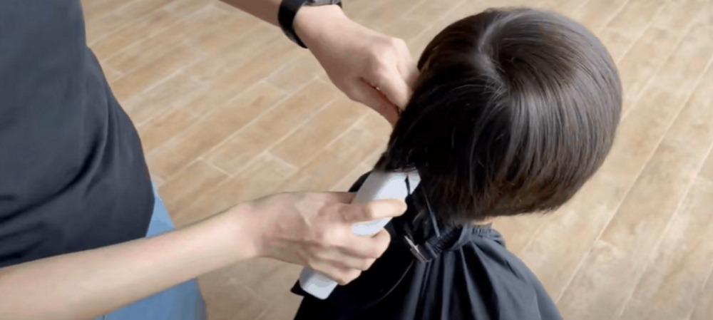 Τρόπος χρήσης hair trimmer