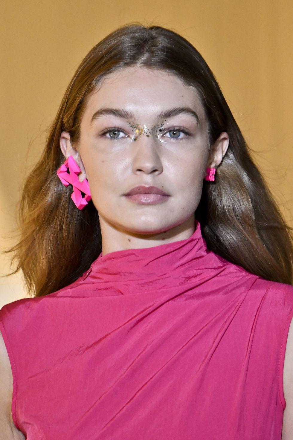 Gigi Hadid Any glitter goes