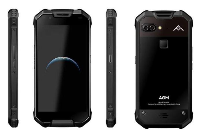 AGM X2 SE, design και αντοχή