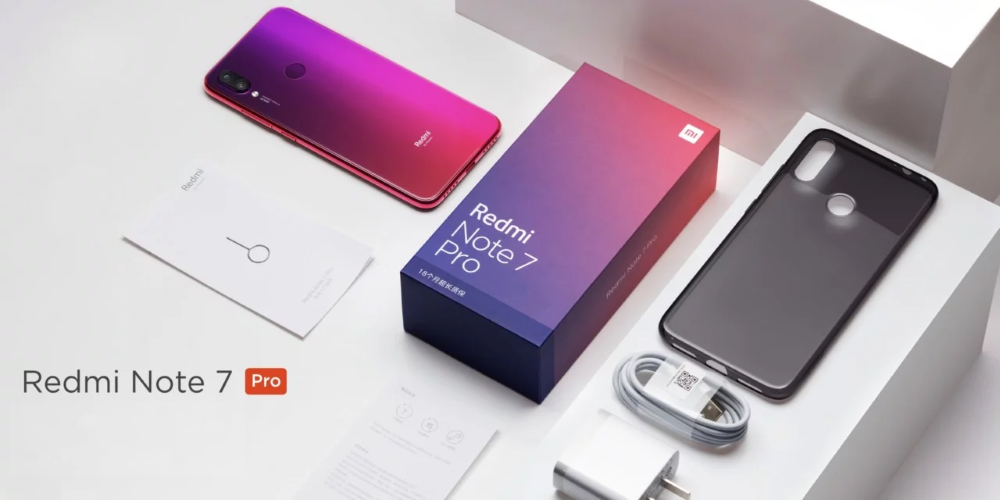 Xiaomi Redmi Note 7 Package Contents