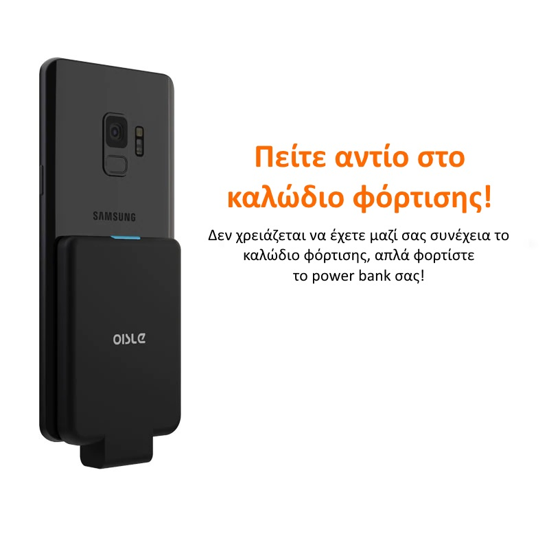 OISLE MP282P/X02 Φορητή Μπαταρία Φόρτισης 4500mAh Type-C