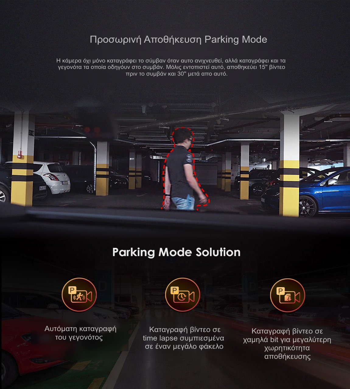 Viofo A119 V3 parking mode