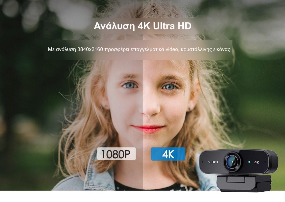 Viofo p900 4k Ultra Uhd web camera