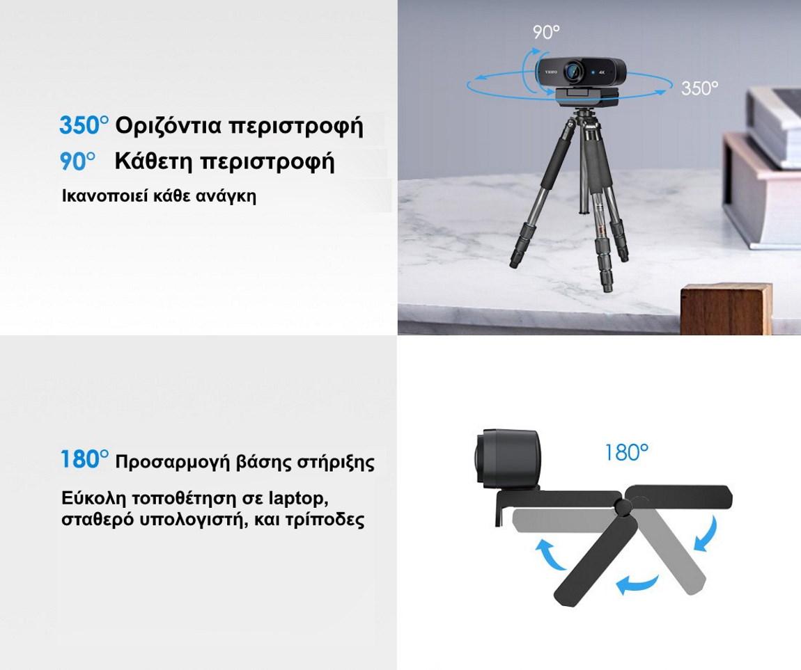 Περιστροφόμενη Viofo P900 Web camera