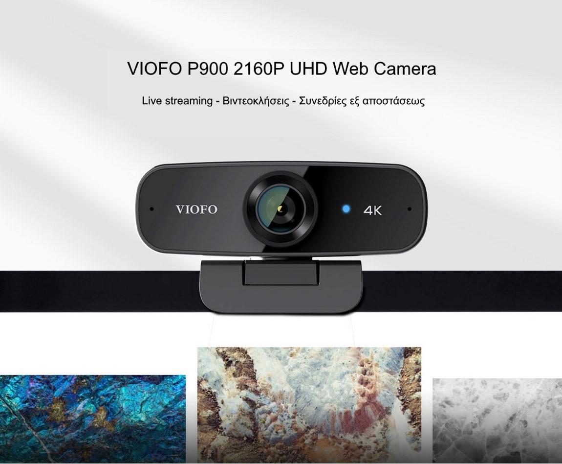 VIOFO P900 2160P UHD Web Camera
